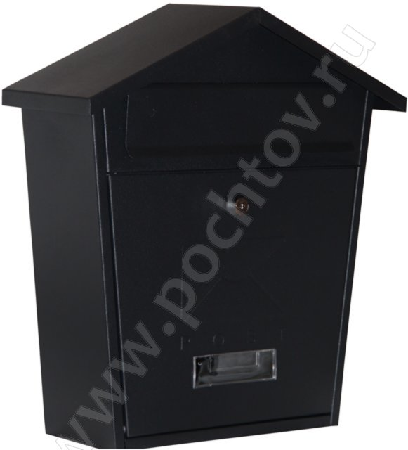 Почтовый ящик House Box Black, Хаус Бокс Блэк